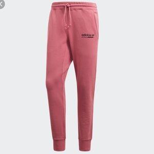 NWOT Pink Adidas Kabul Cuffed Fleece  Pants, Lg🔥